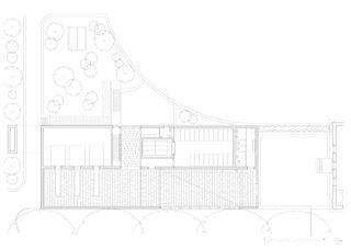 EG Ersatzneubau Krematorium Friedhof am Hörnli von Architekturbüro Bernhard Maurer GmbH + FGA Architectes