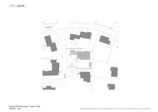Situation EFH am Föhrenweg von Merlo Architekten AG