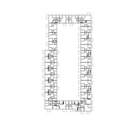 Regelgeschoss Hochbord von Fischer Architekten AG