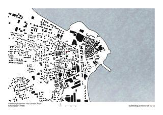 Schwarzplan Haus Selma - Erweiterung Bürgerheim von raumfindung architekten gmbh