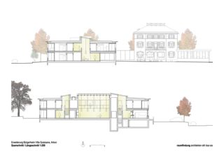 Schnitte Haus Selma - Erweiterung Bürgerheim von raumfindung architekten gmbh