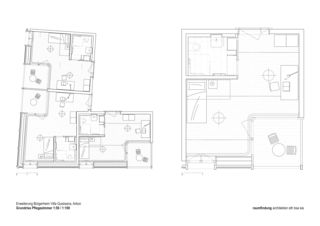 salles de soins Haus Selma - Erweiterung Bürgerheim de raumfindung architekten gmbh