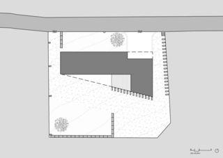 Plan Grundstück Villa Molignon von Architecte EPFL/SIA<br/>