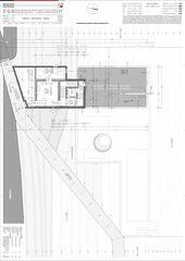 Plan 2. OG Casa secondaria von Studio d'architettura Ernesto Bolliger