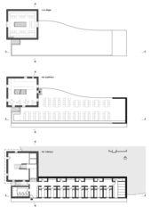 Grundrisse  Cabane L'Ilhorn von Architecte EPF/SIA<br/>