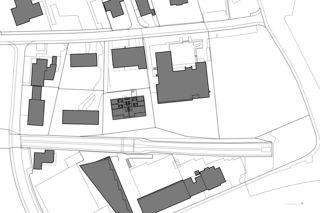 Situation Mehrfamilienhaus Grampenweg 9, Bülach de Hansjörg Betschart,   Architektur + Fotografie