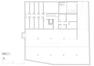 Tiefgarage Mehrfamilienhaus Grampenweg 9, Bülach von Hansjörg Betschart,   Architektur + Fotografie