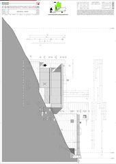 Westfassade Casa secondaria von Studio d'architettura Ernesto Bolliger