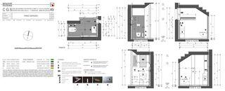 Toilette 1. OG Casa secondaria von Studio d'architettura Ernesto Bolliger