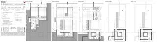 Innen Casa secondaria von Studio d'architettura Ernesto Bolliger
