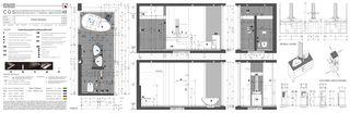 Badezimmer Casa secondaria von Studio d'architettura Ernesto Bolliger