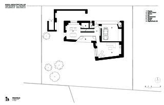 Erdgeschoss Trovatello von KREN Architektur AG