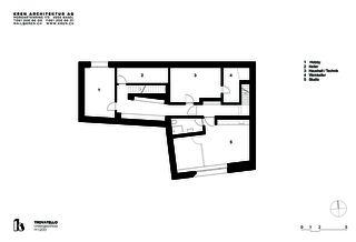 Untergeschoss Trovatello von KREN Architektur AG