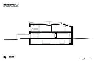 Längsschnitt Trovatello von KREN Architektur AG