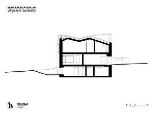 Querschnitt Trovatello von KREN Architektur AG