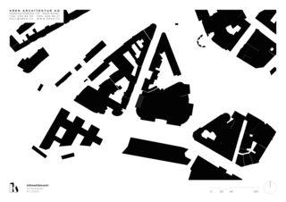Schwarzplan Inthewhiteroom von KREN Architektur AG