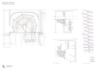 Details Stahltreppe Inthewhiteroom von KREN Architektur AG