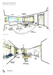 Konzeptskizzen Inthewhiteroom von KREN Architektur AG