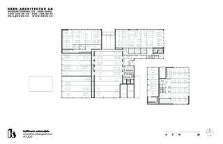 Obergeschoss hoffmann automobile aesch von KREN Architektur AG
