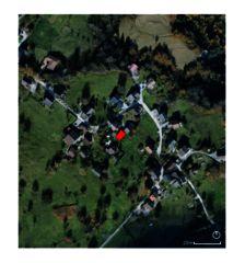 situation Grange Ayent de Architecte EPFL/SIA<br/>