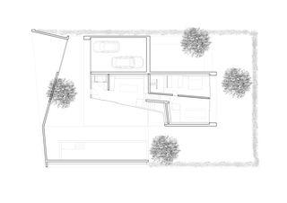 Rez inférieur Construction d'une villa unifamiliale avec piscine de Pierre-Alain Dupraz Architecte ETS FAS