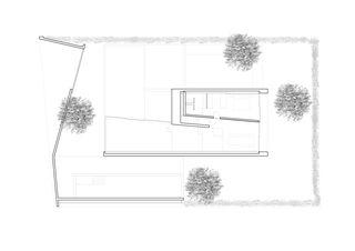 Rez supérieur Construction d'une villa unifamiliale avec piscine de Pierre-Alain Dupraz Architecte ETS FAS