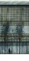 Centre administratif, vue détaillée 1:20 «verbindende Landschaften», Beton - & Kieswerk in Bonaduz de