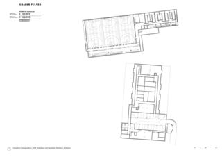 Plan sous-sol Schulanlage Reitmen, Schlieren de Graber Pulver Architekten AG