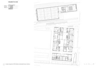 Plan de rez-de-chaussée Schulanlage Reitmen, Schlieren de Graber Pulver Architekten AG