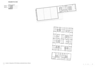 Plan 1er étage Schulanlage Reitmen, Schlieren de Graber Pulver Architekten AG