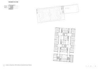 Plan 2e étage Schulanlage Reitmen, Schlieren de Graber Pulver Architekten AG
