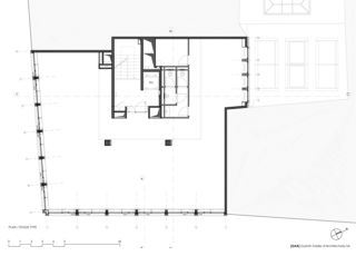 Plan d'étage type Transformation de façade à Genève de [GAA] Guenin Atelier d'Architectures