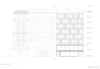 Façade rue de la Confédération Transformation de façade à Genève de [GAA] Guenin Atelier d'Architectures