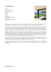 Beschreibung  Villa passive à Fenin von Biolley Pollini Architectes Sàrl