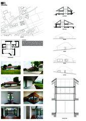 A0 Plakat Wohnhaus in Günsberg von HSB ARCHITEKTEN GmbH