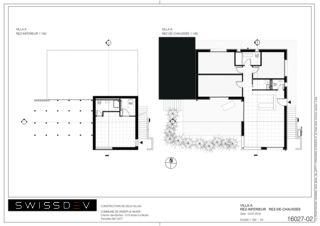 Grundrisse Villa A Les Biches von SWISSDEV SA