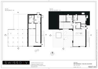 Grundrisse Villa B Les Biches von SWISSDEV SA