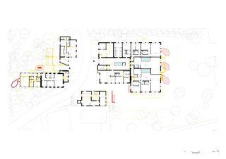 Erdgeschoss Umnutzung Forsanose von burkhalter sumi architekten
