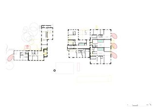 1. Obergeschoss Umnutzung Forsanose von burkhalter sumi architekten