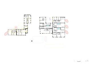 2. Obergeschoss Umnutzung Forsanose von burkhalter sumi architekten