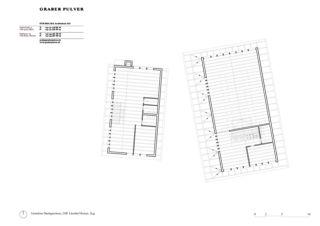 Grundriss Dachgeschoss Ersatzneubauten Lüssihof, Zug von Graber Pulver Architekten AG