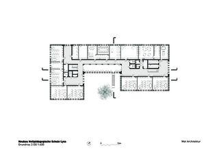 Niveau 2 Heilpädagogische Schule de Architektbüro<br/>