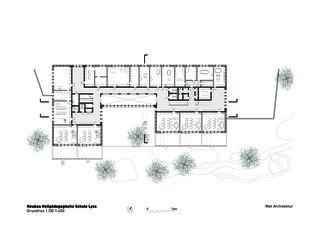 Niveau 1 Heilpädagogische Schule de Architektbüro<br/>