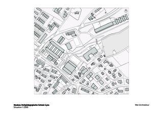 Situation Heilpädagogische Schule de Architektbüro<br/>