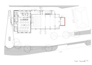 1. Obergeschoss Anbau Theater Rigiblick von ETH/ BSA/ SIA/SWB<br/>