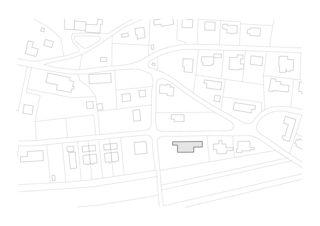 Situation Zwischen Himmel und Erde, Neubau EFH von Blaser Architekten AG