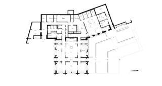 Grundriss EG Mottahütte von Giubbini Architekten ETH SIA AG