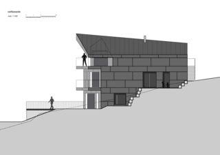 Façade est 7 1/2 Zimmer Stadtvilla de bauwelt architekten ag