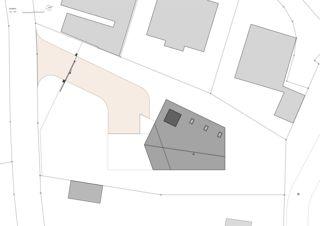 Situationsplan 7 1/2 Zimmer Stadtvilla von bauwelt architekten ag