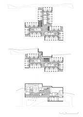 Grundrisse Construction d'un EMS von Patrick Minder Architectes Sàrl